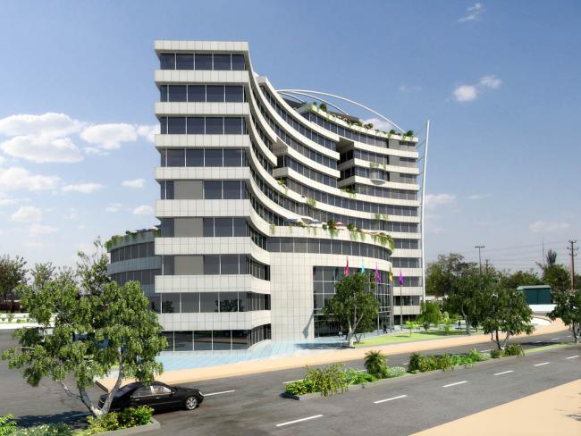 Hotel and Shopping Center - Qom