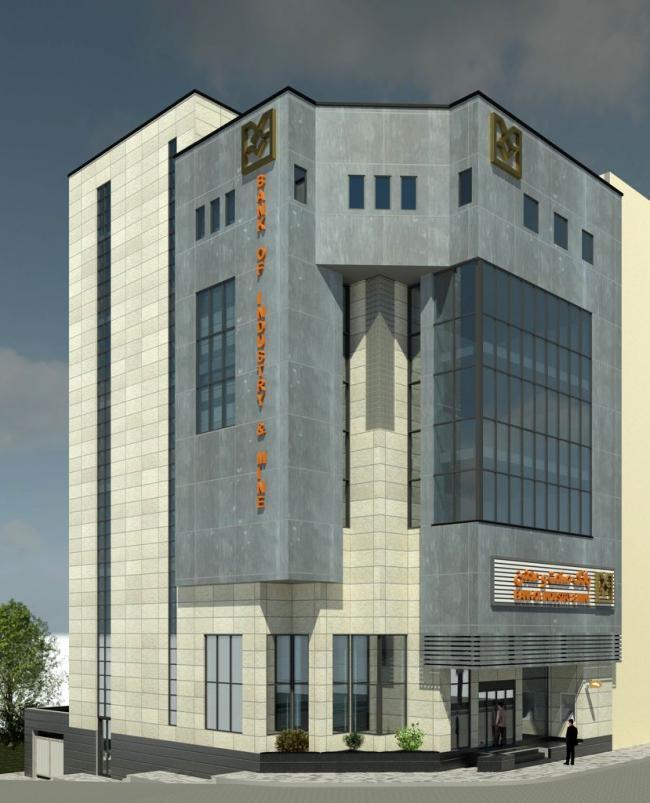بانک صنعت و معدن شعبه ساری