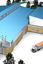 ساختمان های صنعتی  - پروژه های سطح و صنعت